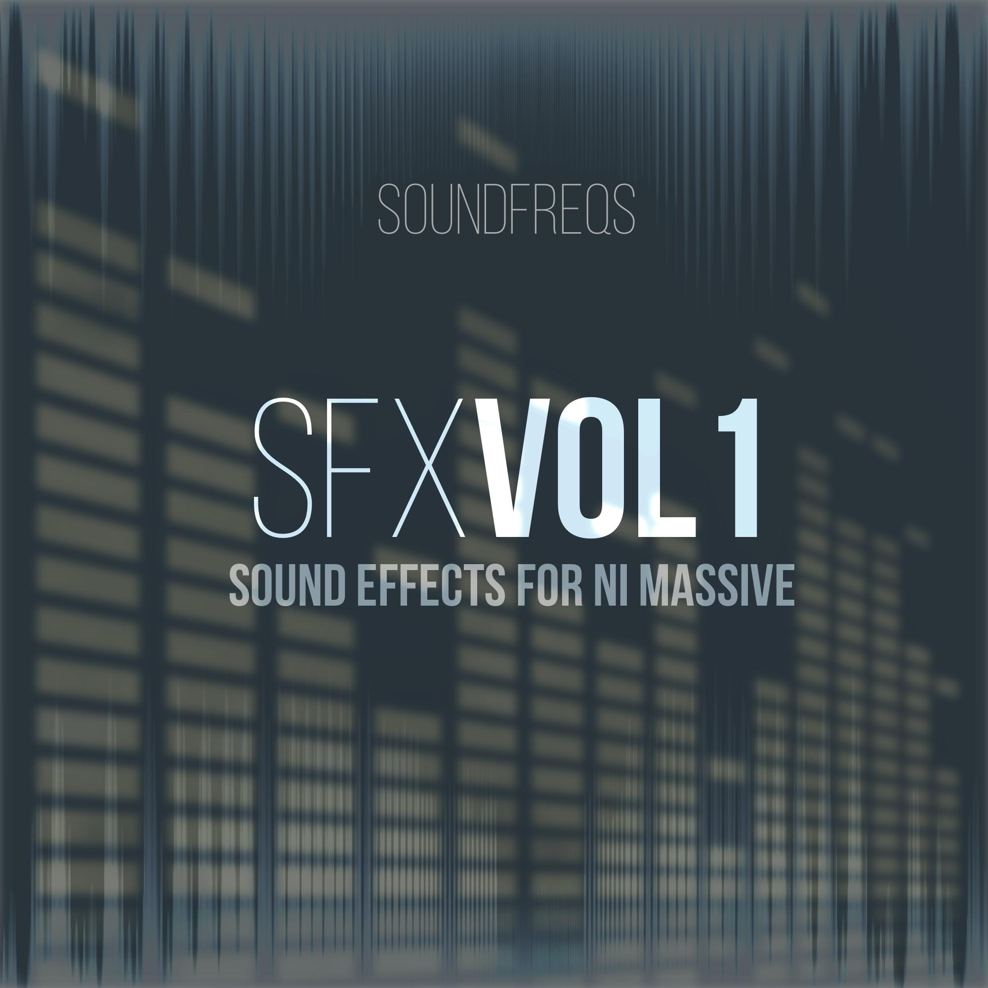 SFX Vol  1 - NI Massive Presets -