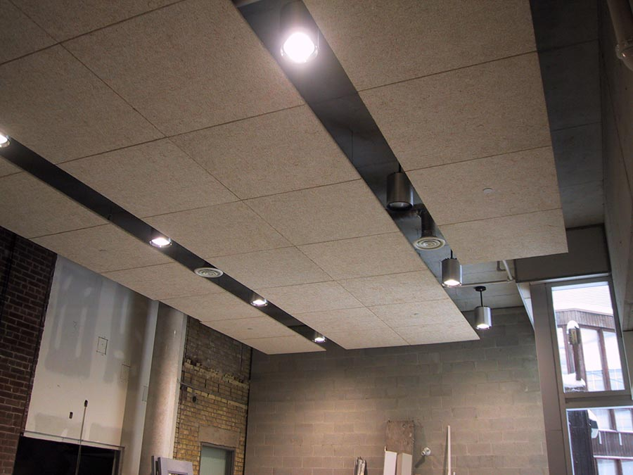 Interior  Ceiling  Wood  Sound Rite  Acoustical