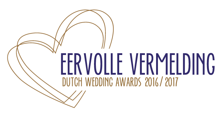 Eervolle Vermelding Dutch Wedding Awards