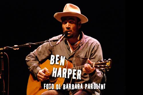 Ben Harper - foto Barbara Parolini