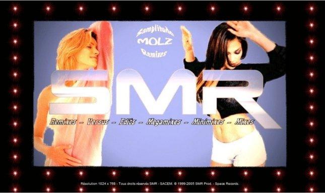 Page d'accueil de l'ancien site de SMR