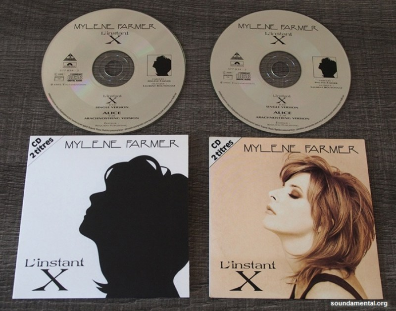 Mylène Farmer - L'instant X (Collector erreur d'impression) + pressage standard, avec les CD
