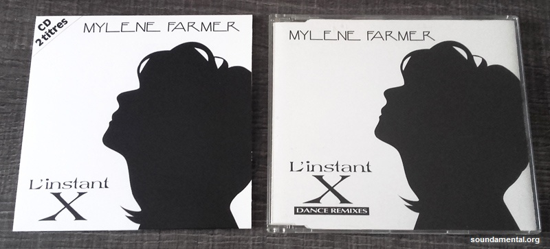 Mylène Farmer - L'instant X (Collector erreur d'impression) + CD maxi
