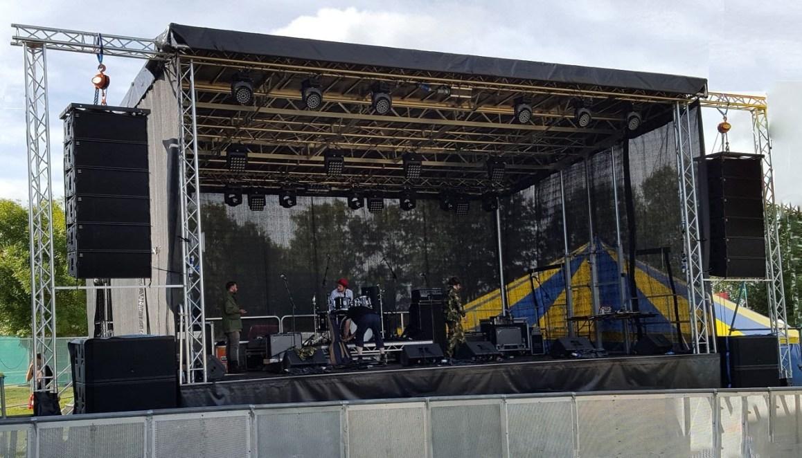 Stage, Sound, Lighting (Day)