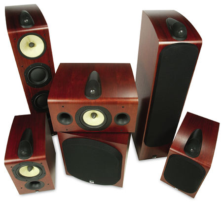 B W Home Theatre Speakers Homemade Ftempo