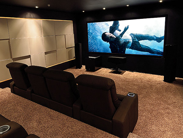 Seymour Screen Excellence AmbientVisionaire Black 12