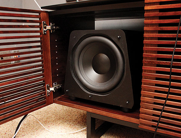 The Cabinet  the Subwoofer  Sound  Vision