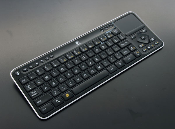 Logitech Makes Typing on TV Easy