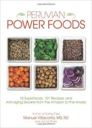 peruvian power foods book cover
