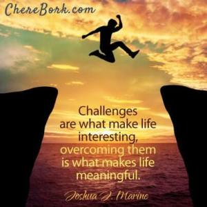Challenge Yo' Self! Life Lessons and Some of My Recent Challenges