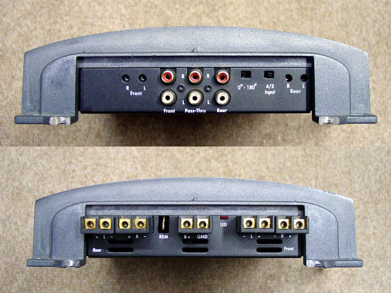 Rockford Fosgate Custom Polished Amplifier Set