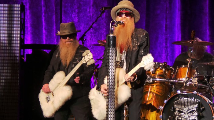 ZZ Top Billy and Dusty showing Kingston how to Rock March 3, 2015