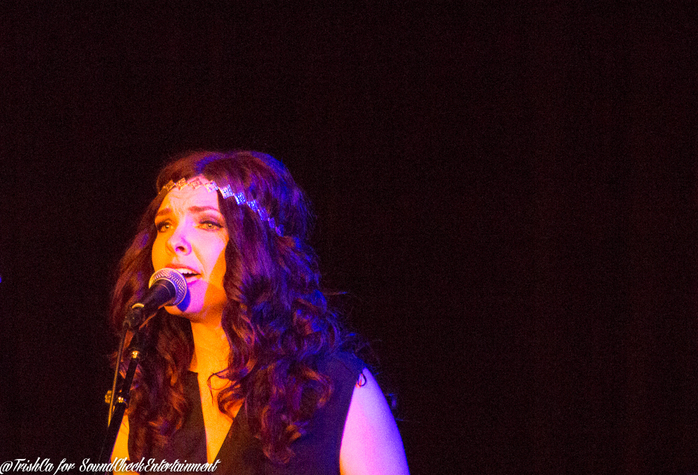 The Lovelocks Zoe Neuman at Hugh's Room in Toronto photo by Trish Cassling