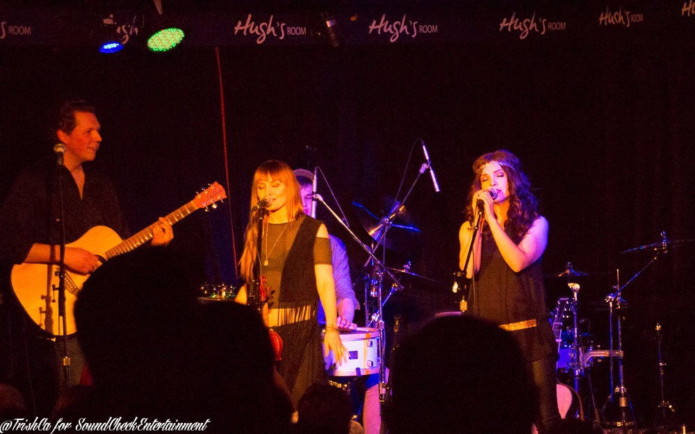 The Lovelocks at Hugh's Room in Toronto photo by Trish Cassling