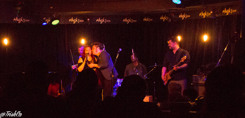 The Stellas at Hugh's Room in Toronto photo by Trish Cassling