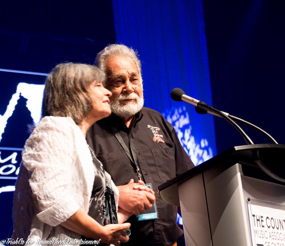 Paula Chopik & Ed Leslie – Havelock Country Jamboree CMAO Awards - Photo: Trish Cassling