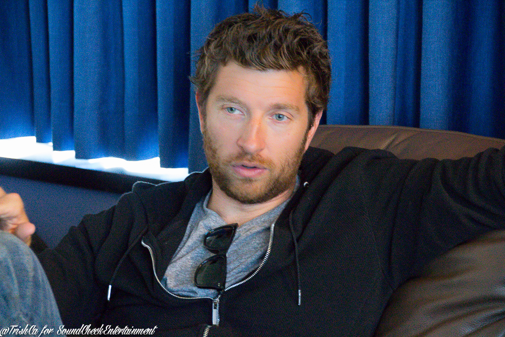 Brett Eldredge chats with Sound Check backstage at a recent show