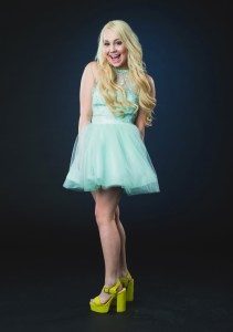 NASHVILLE, TN - JUNE 04:  RaeLynn poses at the 2014 CMT Music Awards - Wonderwall Portrait Studio at Bridgestone Arena on June 4, 2014 in Nashville, Tennessee.  (Photo by Christopher Polk/Getty Images for Wonderwall)