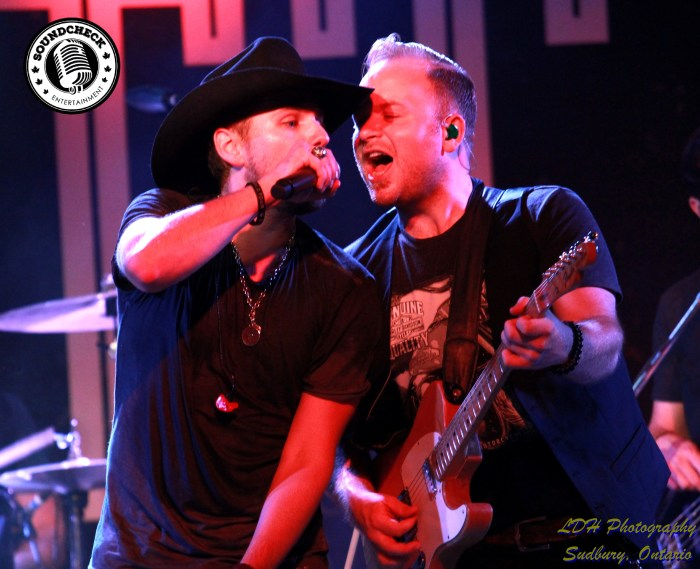 Brett Kissel with Matty McKay