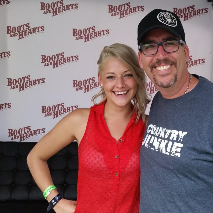 Trinity Bradshaw with Corey Kelly @ Boots & Hearts