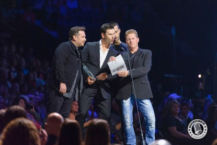 Emerson Drive presents at the 2015 CCMA Awards - James Batten Photography