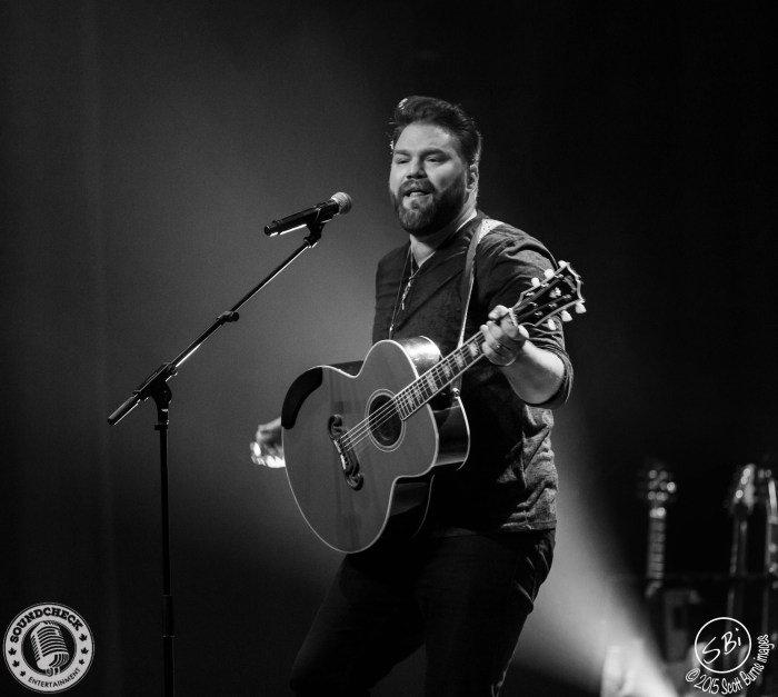 James Otto performs on the Three's A Party Tour in Oshawa at The Regent Theatre - Photo: Scott Burns Images