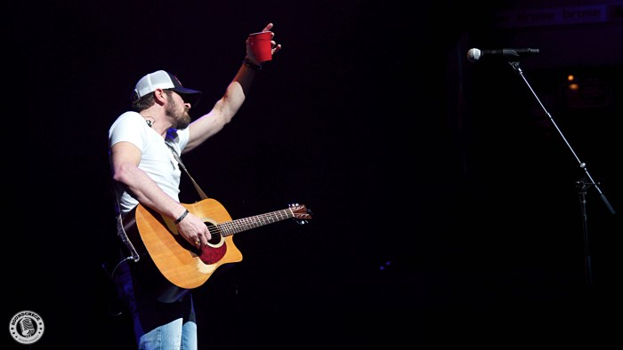 Brian Davis performs during the Blackout Tour stop @ Budweiser Gardens in London, ONT - Photo: Corey Kelly