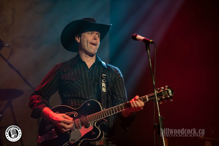 Corn Lund performs at the London Music Hall - Photo: Bill Woodcock