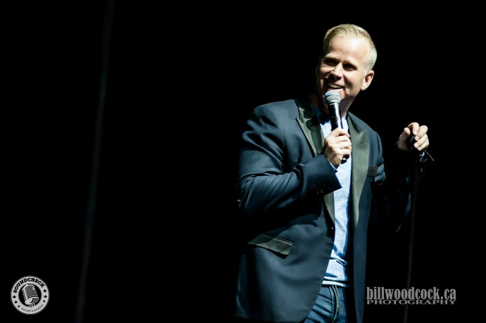 Gerry Dee performs in London ON. Photo: Bill Woodcock
