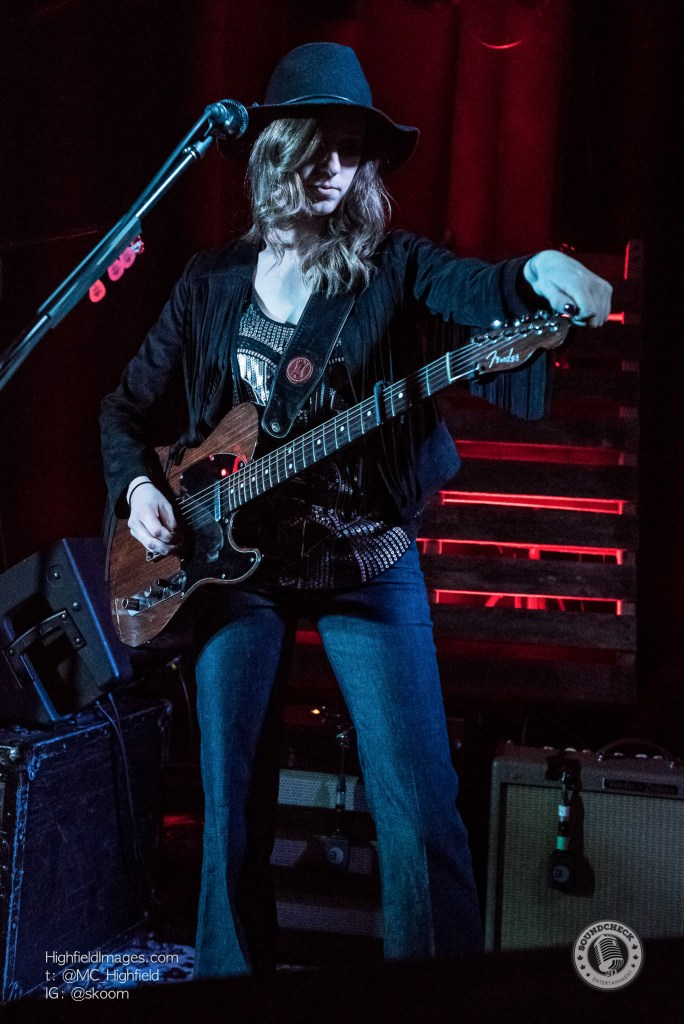 Danielle Beaudin of The Redhill Valleys at The Spice Factory - Photo: Mike Highfield