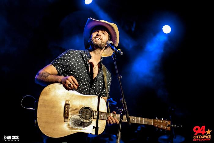Dean Brody performs at New Country 94's Summer Kick Off Party - photo by Sean Sisk courtesy of New Country 94