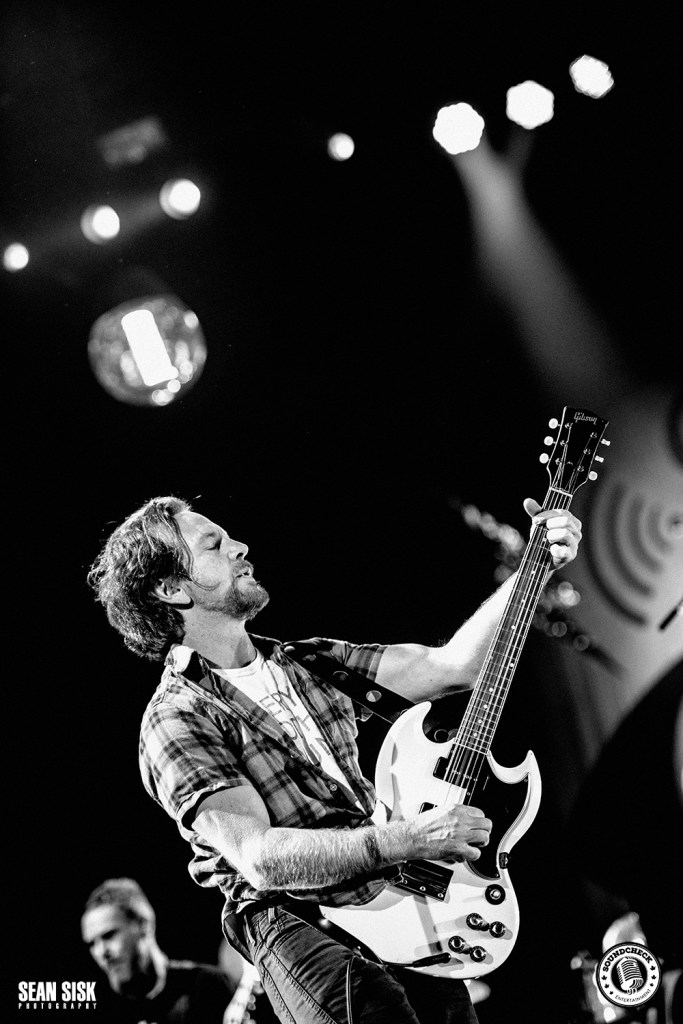 Pearl Jam performs at Canadian Tire Centre in Ottawa - photo by Sean Sisk for Sound Check Entertainment