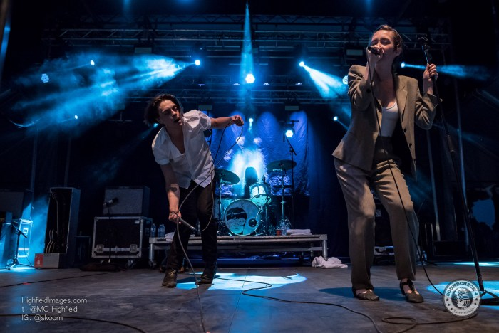 July Talk perform at the Sound of Music Festival in Burlington - Photo: Mike Highfield