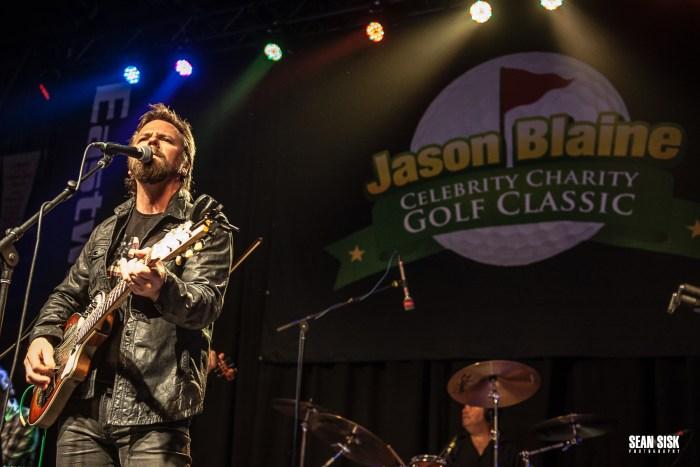 Jason McCoy performs during Jason Blaine's Hometown Event - Photo: Sean Sisk