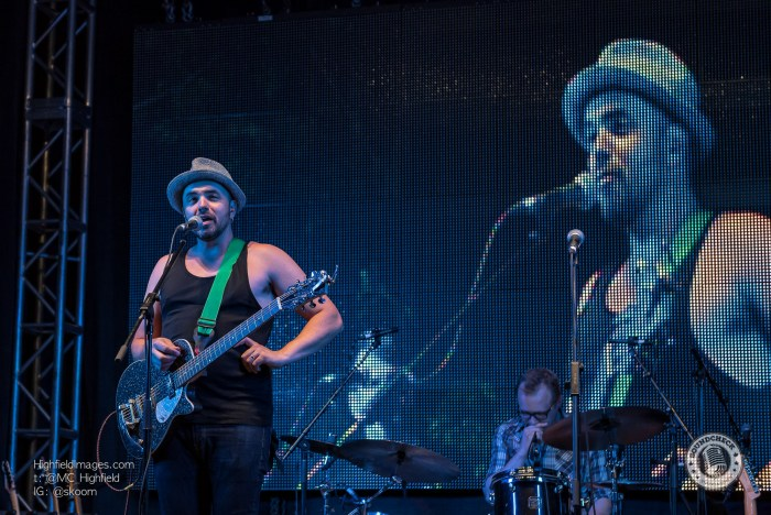 Hawksley Workman performs at the Sound of Music Festival in Burlington - Photo: Bill Woodcock
