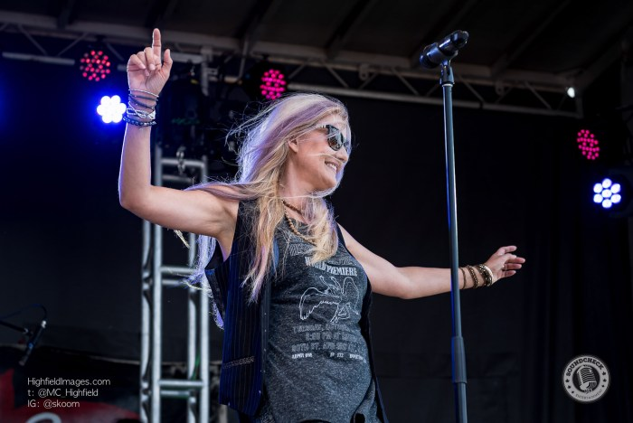 Sass Jordan performs at the Sound of Music Festival in Burlington - Photo: Mike Highfield