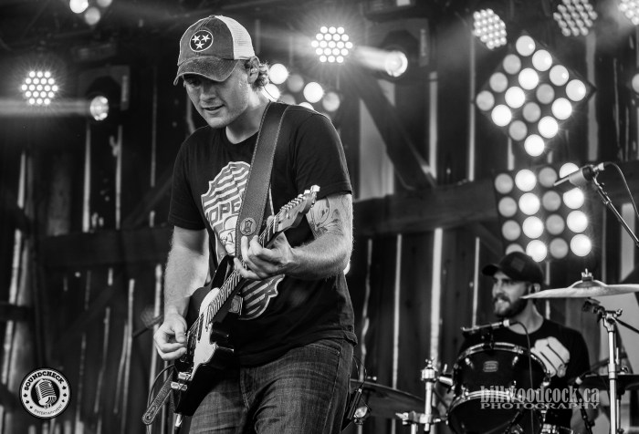 James Barker Band performs @ CMT Music Fest in Kitchener - Photo: Bill Woodcock