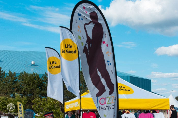 Life indeed is good at the Newmarket Jazz Fest. Photo: Scott Burns