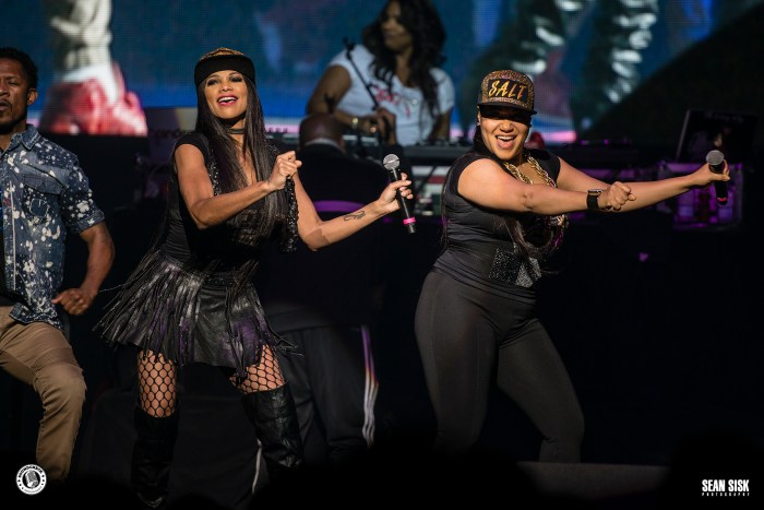 Salt N' Pepa performs at TD Place as part of the I Love the 90s Tour - photo by Sean Sisk for Sound Check Entertainment