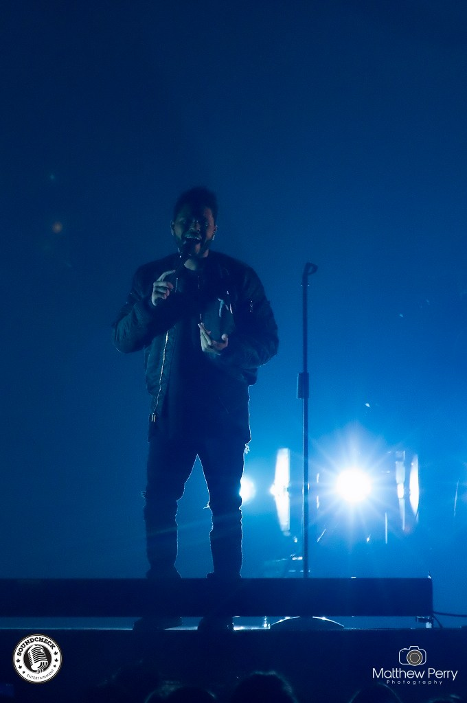 The Weeknd performs at iHeart Radio's Jingle Ball on November 25 at Air Canada Centre - photo by Matthew Perry