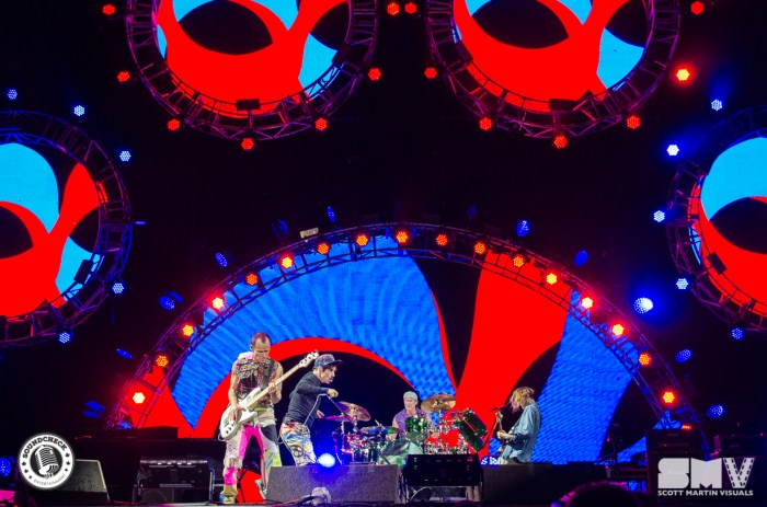 Red Hot Chili Peppers at Bluesfest 2016