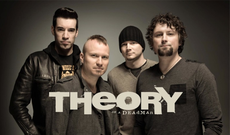 Theory Of A Deadman Announces Canadian Tour In The Spring