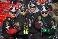 The Grey Cup Fun Police at the 105th Grey Cup in Ottawa photo Renee Doiron