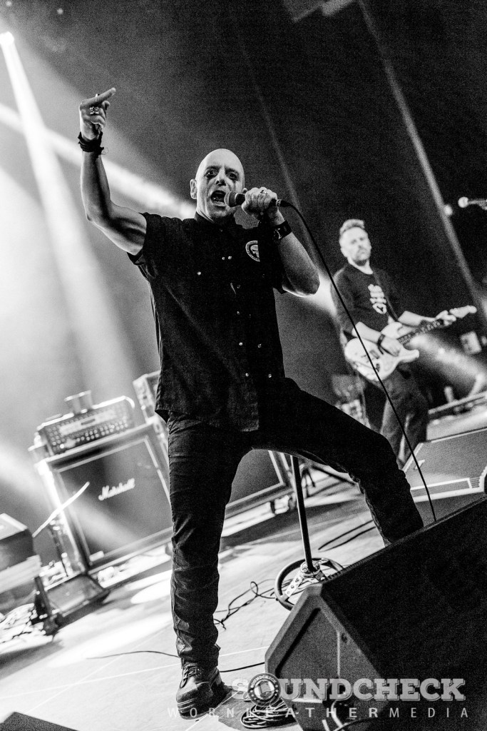 Hugh Dillon of the Headstones at Grey Eagle Resort and Casino