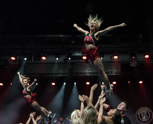 RedBlacks Cheer Team at Grey Cup Festival (TD Place) Photo by Els Durnford (@elsdurnford)