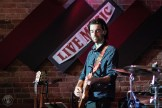 Rhythm guitarist for Sandi Skye performing at Lasso Live in Pembroke ON. Photo By: Rob Blanchette.