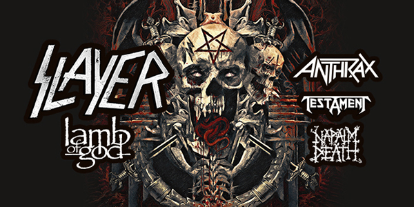 Slayer Announces Final Tour And North American Dates