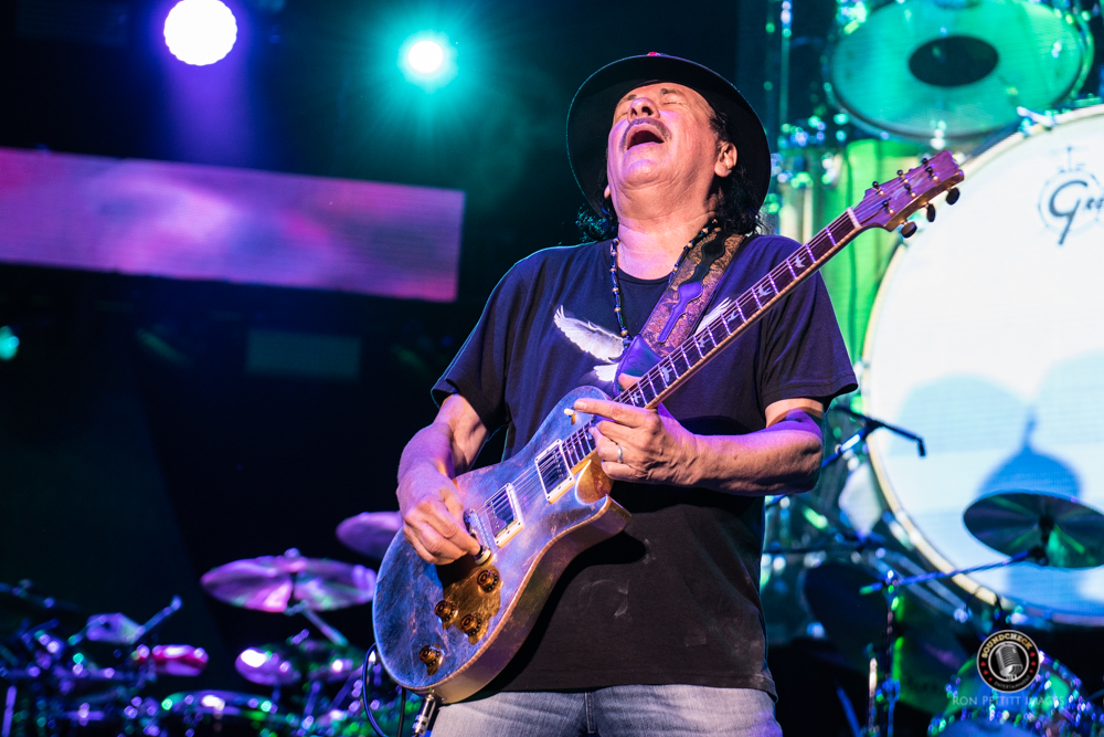 Santana's Supernatural Now Tour Thrills Crowd At Bud Stage
