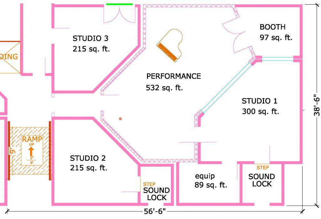 Floor Plan For Multiple Room Facility Steven Klein S