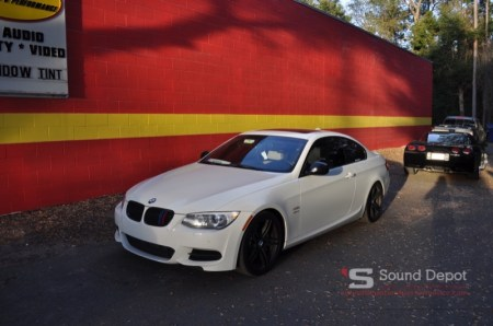BMW I Outfitted With Kenwood EXcelonJL Audio Upgrade - Bmw 325i 2011